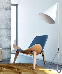 Shell Chair. Hans Wegner.