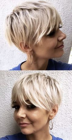 Short Messy Haircuts, Cute Hairstyles For Short Hair, Short Hair Styles, Short Hair With Layers, Short Hair Cuts For Women, Love Hair, Great Hair, Pixie Bob Haircut, Hair Today Gone Tomorrow