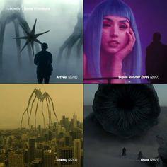 "@cinema.prospects su Instagram: ""SCALE in #DenisVilleneuve films. . . Via @filmoment"" Short Film Competition, Denis Villeneuve, Blade Runner 2049, Dune, Films, Movies, Cinema, Scale, Movie Posters"