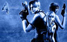 Resident Evil 4 wallpaper: Leon Ashley and Ada