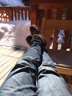 Resting my leg
