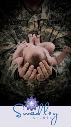 Newborn boy, military, Newborn baby photography in Winchester Va » Swadley Studio