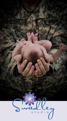 Newborn boy, military, Newborn baby photography in Winchester Va » Swadley Studio