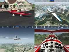 Aerofly FS - This app brings a virtual flying experience to iOS devices and provides iOS users an incredibly impressive flight simulator experience, featuring 16 different aircraft options. What is included in the basic version of Aerofly FS is definitely more than enough for players to get into the game and enjoy its many features. Click the image for our full review.