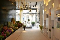 florist shop design | Bloemen flower store by Juma Architects Ghent 02 Bos Bloemen flower ...