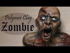 Polymer Clay Zombie Tutorial video tutorial YouTube