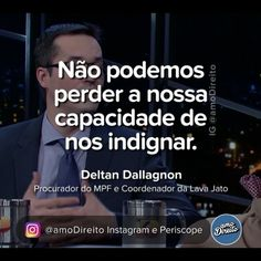 👏😌 Grandes palavras do procurador Daltan Dallagnol, da operação Lava Jato. ____ Marque os amigos e siga-nos: 🅿️ Periscope.tv/amoDireito 💟 PodCasts: amo Direito (iTunes) 📳 SoundCloud.com/amoDireito 👍🏾 Facebook.com/amoDireito #Direito #amoDireito