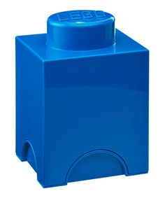Take a look at this Room Copenhagen Blue LEGO 1 x 1 Storage Brick by LEGO Storage on #zulily today!