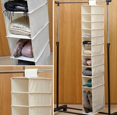 Hanging Shoe & Boot Organiser - Shoe Boxes | Shoe Drawers | Shoe Organisers | Hanging Shoe Storage