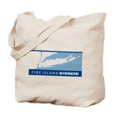 Fire Island - Long Island. Tote Bag on CafePress.com
