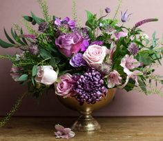 Private still-life bouquet course by the Berlin Flower School
