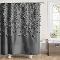 Beautiful Whimsy Girl: Pretty Things {Ruffle Shower Curtains} Bath, Shower, Shower  Curtains