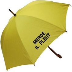 Merde Il Pleut Umbrella - Raindrops Umbrellas & Rainwear Canada