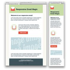 Build an html email template from scratch css pinterest responsive email template creating a simple responsive html email spiritdancerdesigns Choice Image