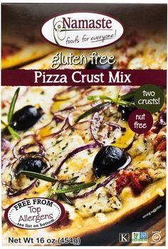 Namaste Foods Pizza Crust Recipe
