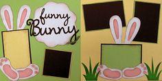 Do It Yourself Easter Scrapbook PageKit. 7.00