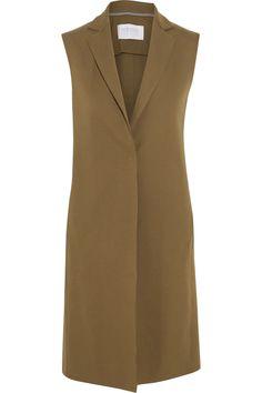 Woman Waistcoat Cotton Interlock & Woman Crop Wide Leg Trousers Light Viscose