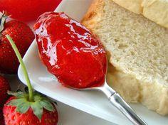~ Strawberry Freezer Jam
