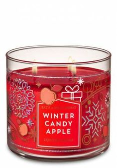 Vintage Apple Design Fresh Apple Scented Candle Tin Ladies Home Gifts Presents