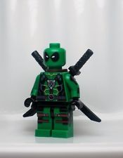 MC238 Lego CUSTOM PRINTED X Force X Men INSPIRED DEATHWISH DEADPOOL MINIFIG