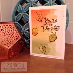 Jessie Holton / MollyPossum Creations / Stampin' Up! Australia Demonstrator: Crazy Crafters Thoughtful Branches Blog Hop