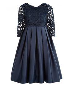 Audrey Dress   Navy   Monsoon
