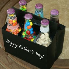 DIY Father's Day Gift - Six Pack of Treats for Dad