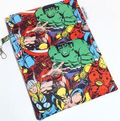 iPad Mini MARVEL COMIC Iron Man Kindle Case by VintageFabricFinds, $22.00