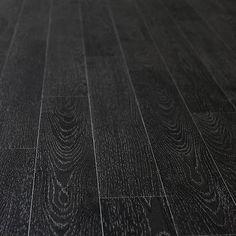 Vinyl tile flooring temporary herringbone google search for Black wood effect lino