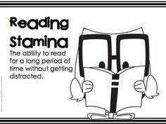Reading Stamina and Actual Reading Daily 5 Writing, Daily 5 Reading, I Love Reading, Guided Reading, Teaching Reading, Learning, 1st Grade Activities, Reading Activities, Building Reading Stamina