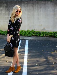 Florals + Big Sunnies