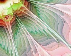 ❄۞Φ Fractals Φ۞❄ ~ Digital Art Digital Art - Petals by Amanda Moore