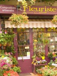 pictures+oof+flower+shops | ... Rights Managed image, photo - exterior of flower shop, nerac, france