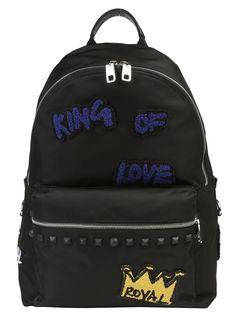 DOLCE & GABBANA DOLCE & GABBANA BACKPACK. #dolcegabbana #bags #lining #nylon #backpacks #suede #