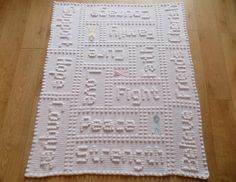 Ravelry: Cancer Support One-Piece Lap Blanket pattern by Peach. Crochet Puntada Bobble, Bobble Stitch Crochet, Knit Or Crochet, Free Crochet, Irish Crochet, Crochet Baby, Crochet Unicorn Blanket, Crochet Blanket Patterns, Knitting Patterns