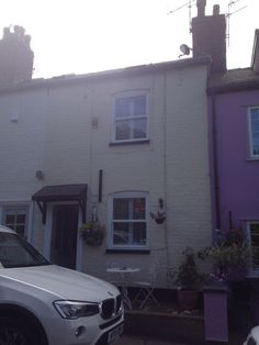 Plantation shutters for the front of the house, Stockport. http://blindsstockport.com