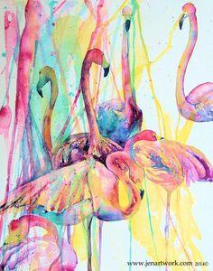 """Flamingo 1st"" by Jen Callahan"