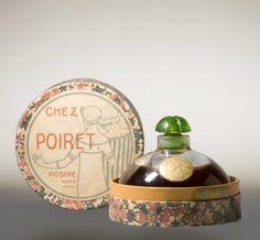 En 1911, Poiret lance Les Parfums de Rosine (du prénom de sa première fille), et devient le premier à imaginer le « parfum de couturier » qu'il conçoit en harmonie avec ses créations. Il ouvre un laboratoire au 39 rue du Colisée et une usine à Courbevoie incluant un atelier de verrerie et de cartonnerie pour le conditionnement. Les premières compositions sont imaginées par Maurice Schaller puis par Henri Alméras, mais Poiret s'implique personnellement.