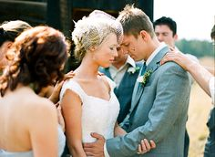 moment of prayer before the ceremony | Cassidy Brooke #wedding