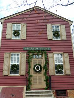 The reNOUNed Nest: Christmas In Colonial Williamsburg: Daily Stroll VI