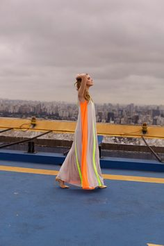 Awesome Color dresses View of Sao Paulo - The Blonde Salad Fashion Mode, Look Fashion, Fashion Beauty, Womens Fashion, Gypsy Fashion, Fashion Clothes, Fashion Photo, Looks Style, Looks Cool