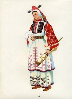 Женска народна носия от Трънско