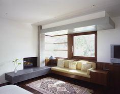 Built-in furniture! Waldfogel Residence - modern - living room - san francisco - Ehrlich Architects