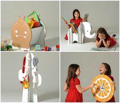 eco&You_cardboardfurniture_kids.jpg | #cardboard #furniture #eco&you #madeinitaly @mercatinodeipiccoli.com