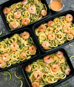 These skinny bang bang zucchini noodles are an easy way to start your week. You can make multiple servings ahead of time, enough for a few meals during the week. We recently started to meal prep on weekends and so far I'm enjoying it. We only do it for lunch, but it helps us to …
