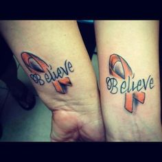 multiple sclerosis tattoo | bacon ribbon tattoo tattoos are good for ...