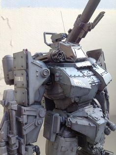 Mech, heavy armor
