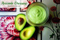 homemade avocado dressing
