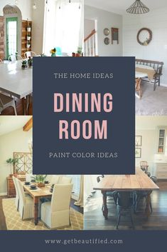 Our dining room color inspiration gallery includes our most preferred color schemes. From modern to traditional, obtain motivated by these fashionable dining room paint color. #diningroom#paint#color#ideas#design#wall#table
