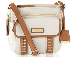 Jessica Simpson Women's Willow Crossbody Bag - Putty Cogn…